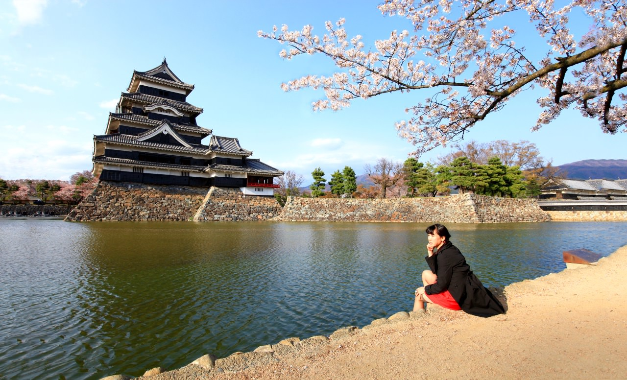 "Matsumoto Castle is one of Japan's historic castles and is known as the ""Crow Castle""."