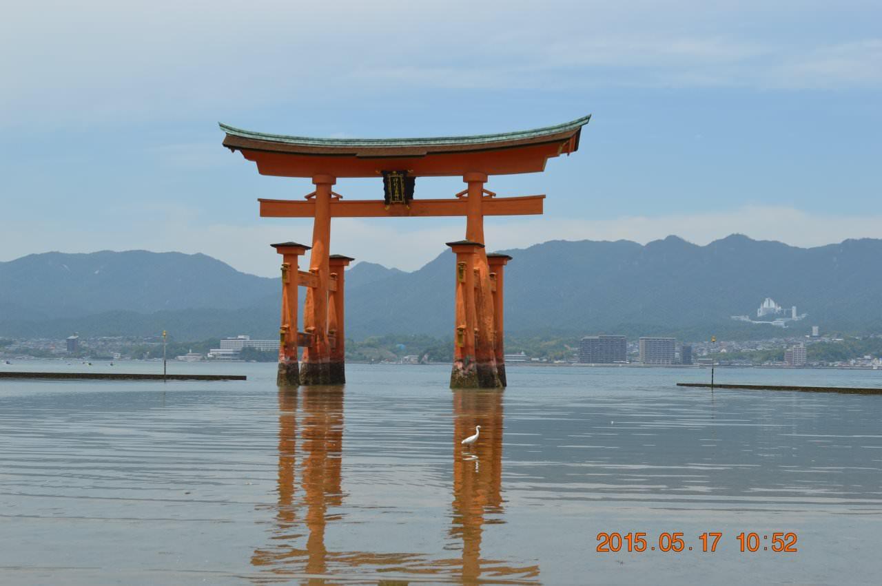 日本唯一海中大鳥居