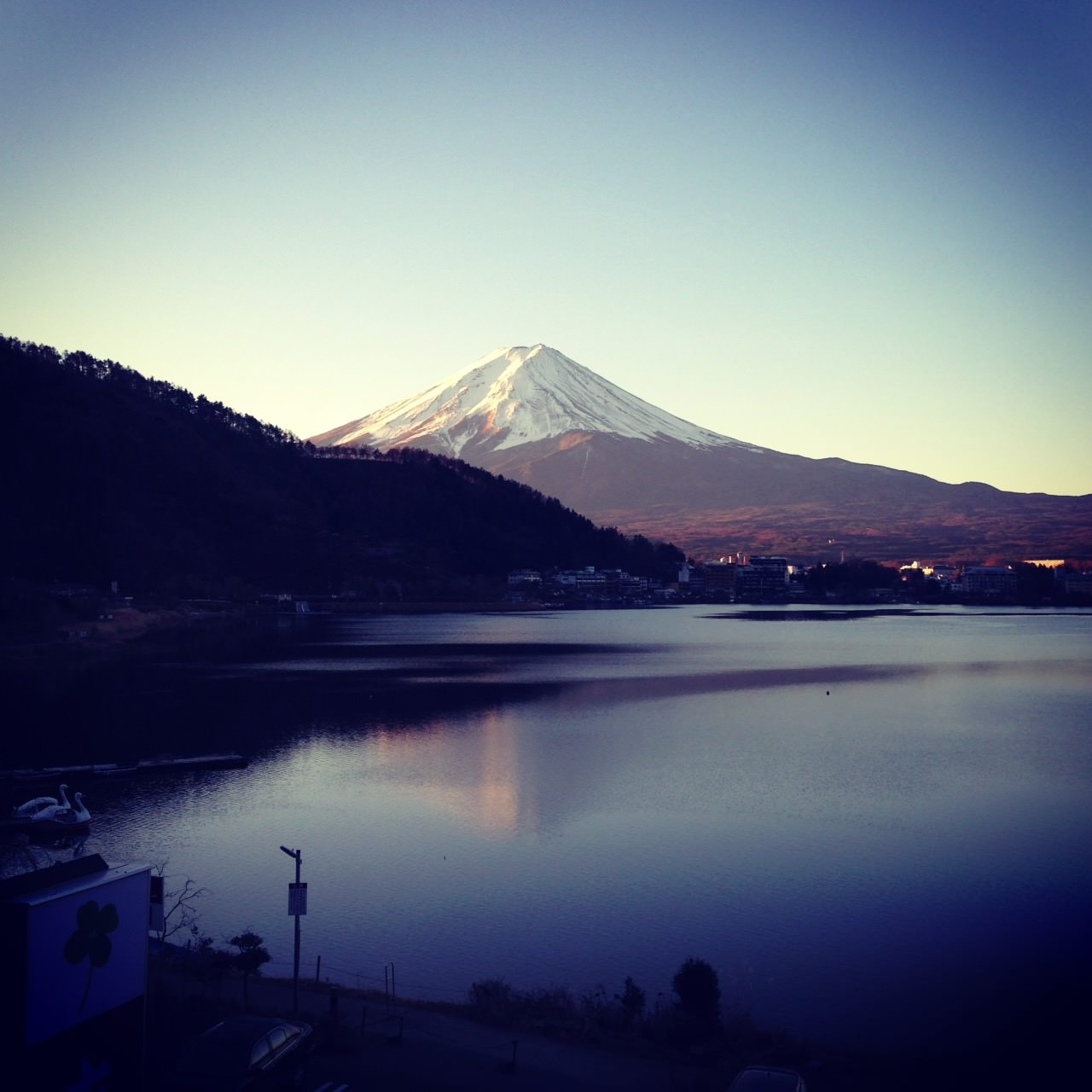 Taken this photo during my road trip at Fuji Five Lakes, the majestic Mt Fuji was truly stunning!