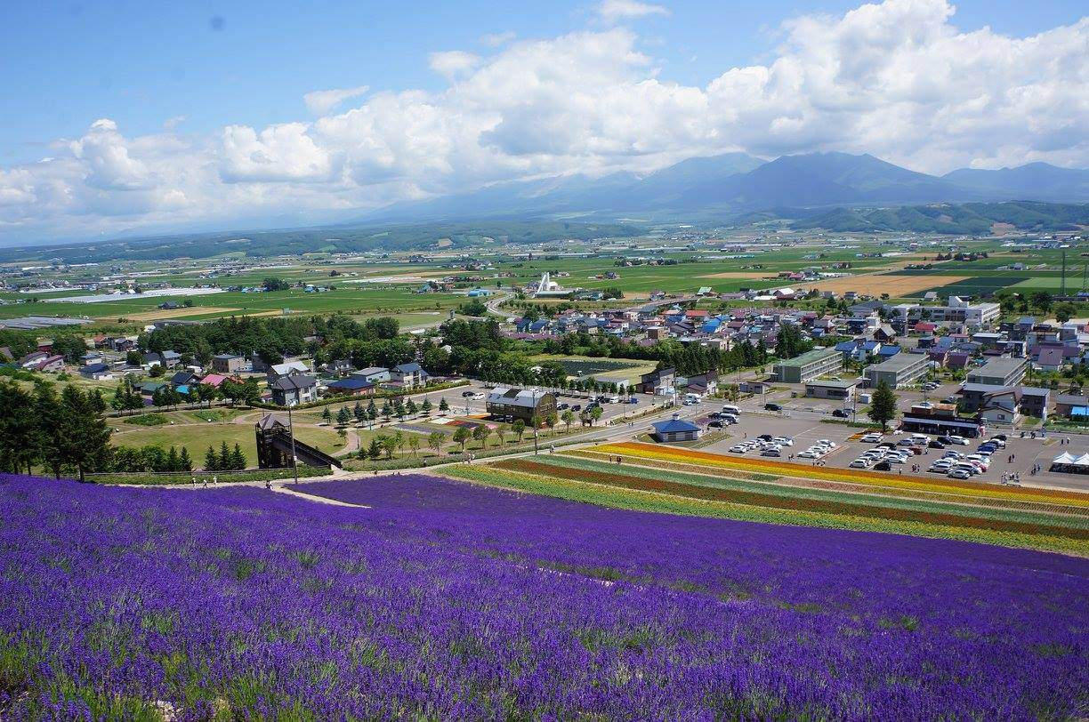 Nakafurano Town owned Flower Park