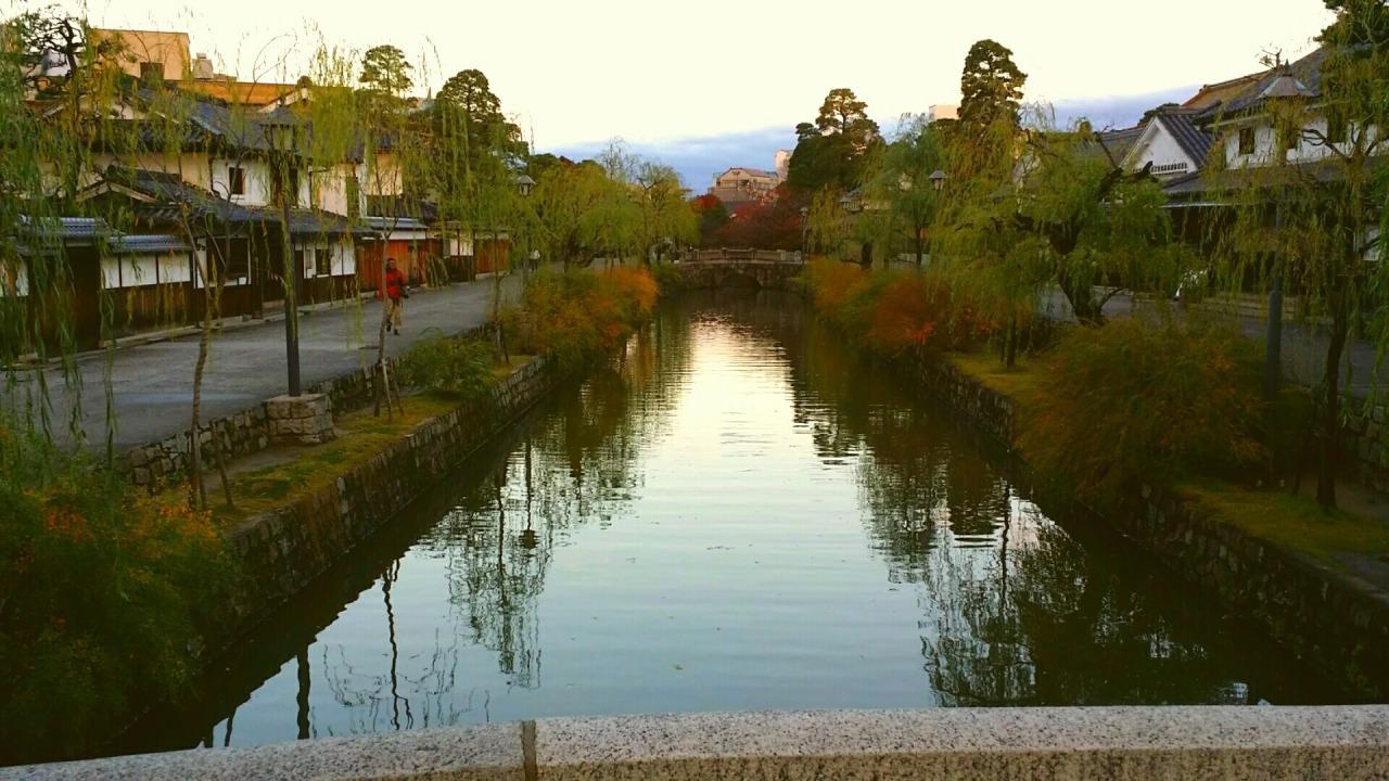 dawn in Kurashiki
