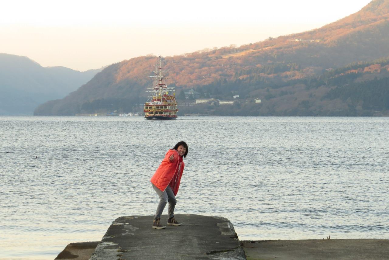 Lake Ashinoko - Motohakoneko