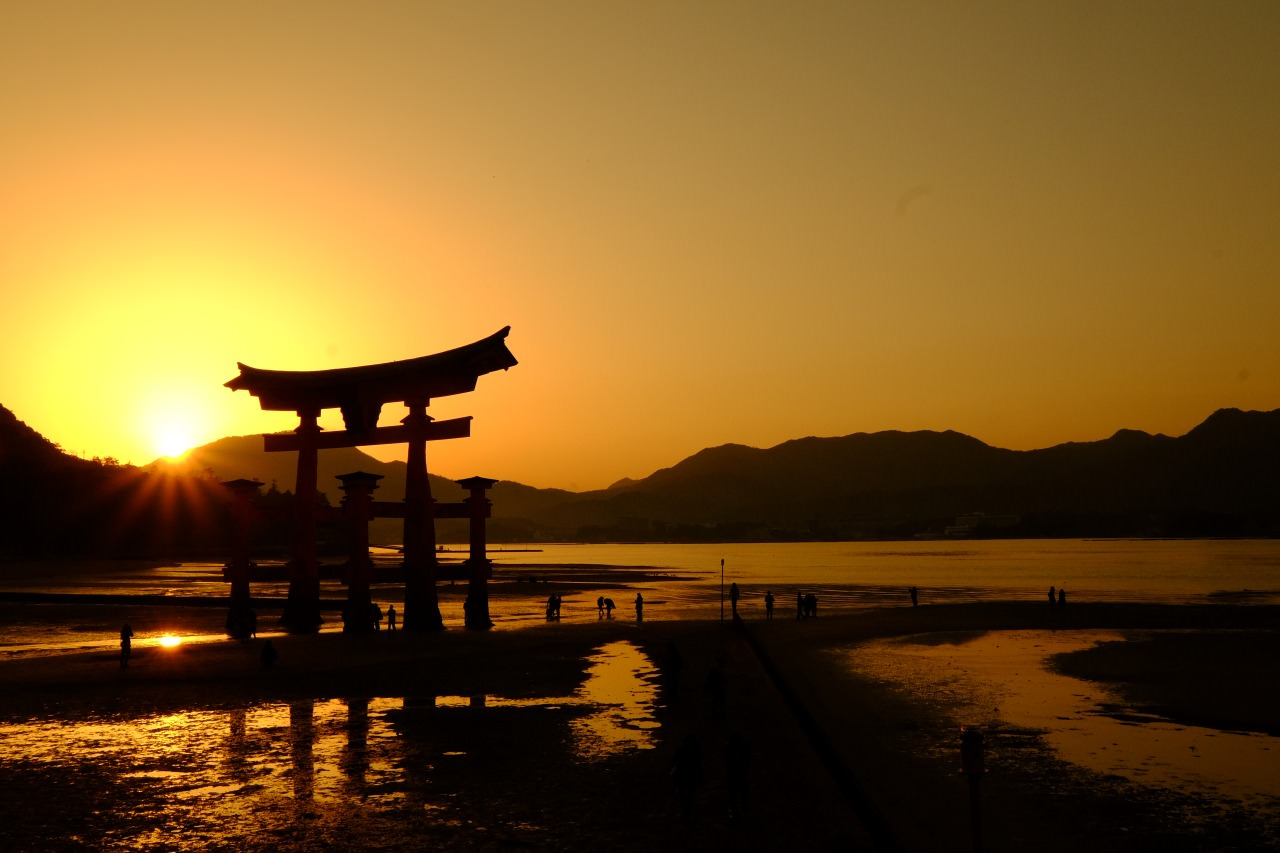The Torii in Miyajima is actually the No.1 prefecture to visit in the World. and I love Japan.