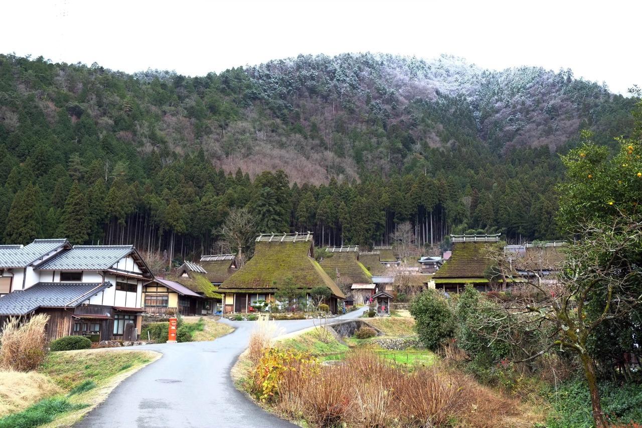 京都行中最令人懷念的,不是各式各樣的古寺、也不是與鹿嬉戲的片段,反倒是這靜謐的美山。再有機會到京都,我想我會直接到美山住上一晚,更深入體會這個小鎮之美。