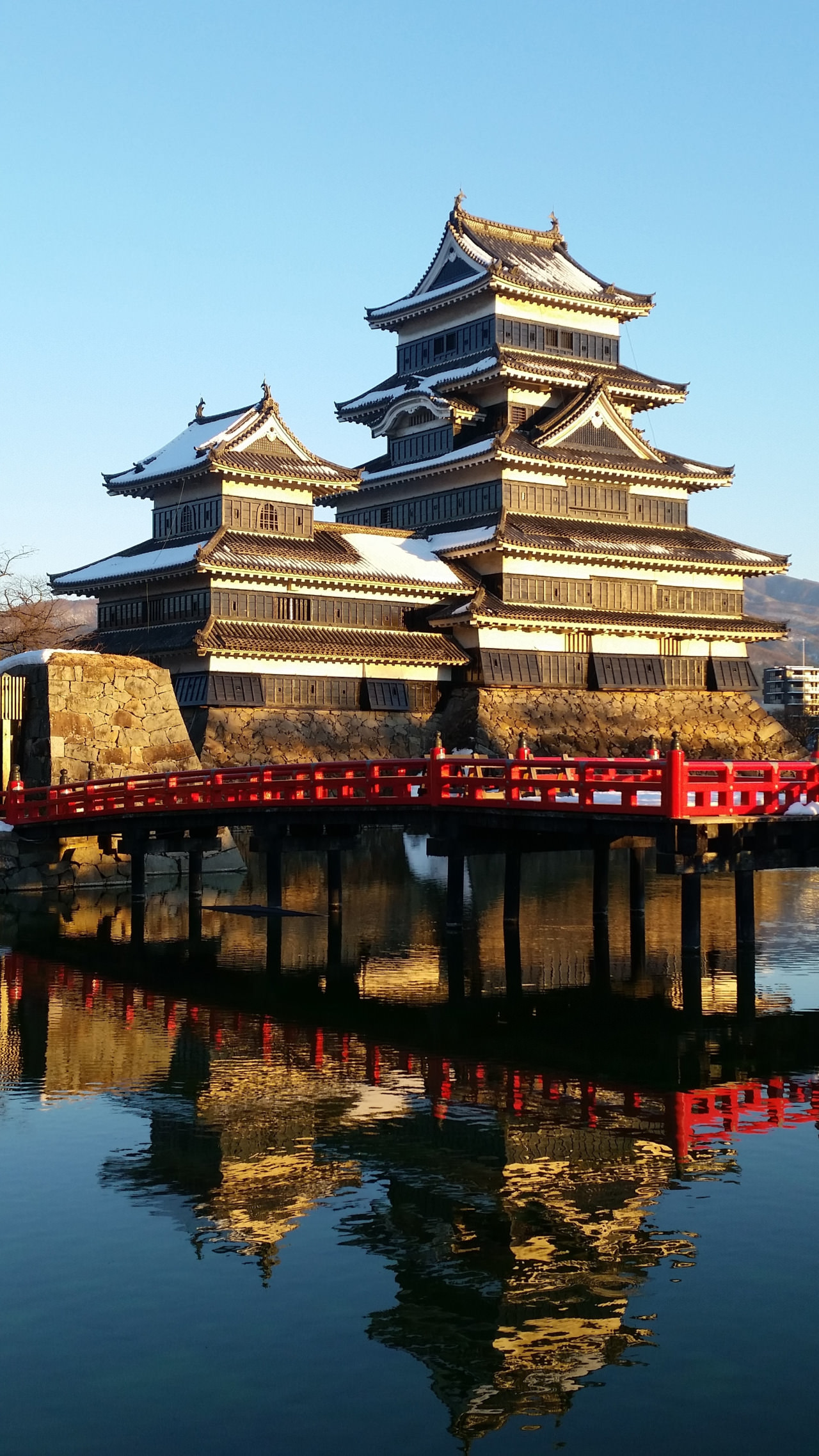 Matsumoto Castle in the Golden Hour.