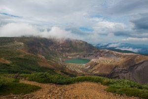 Mt. Zao Okama Crater