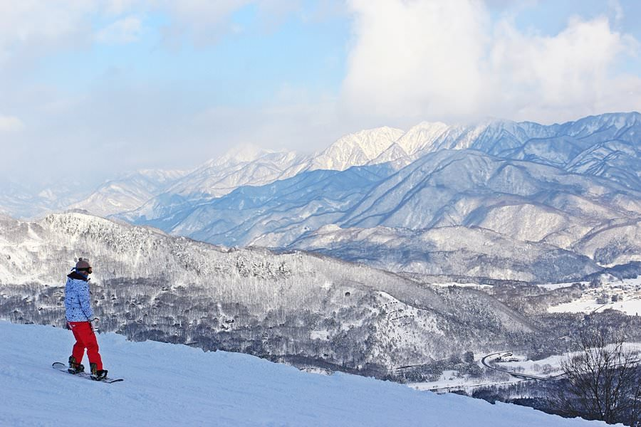 Happo-one snow resort, Hakuba