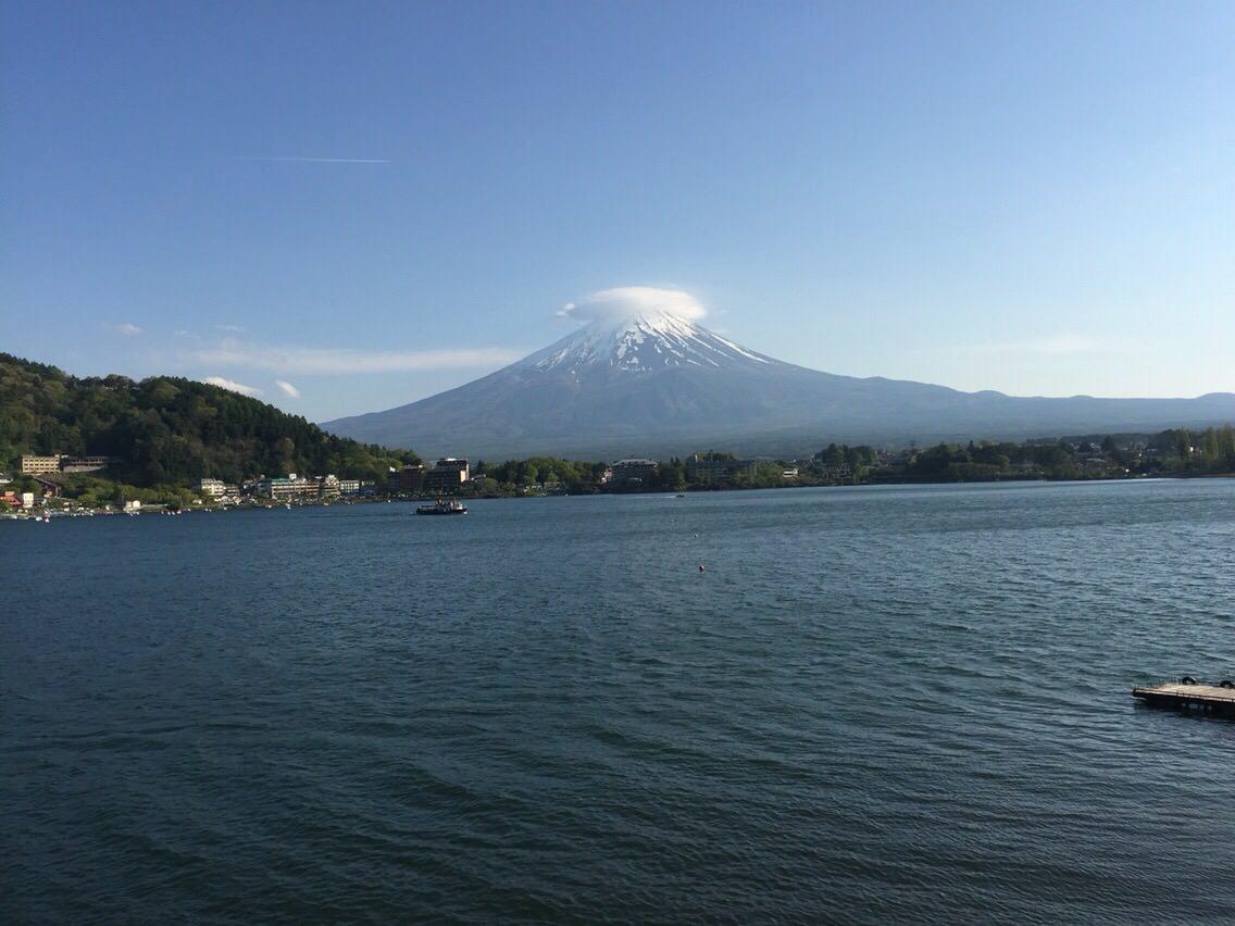 富士山不愧是日本第一山,乃神山也