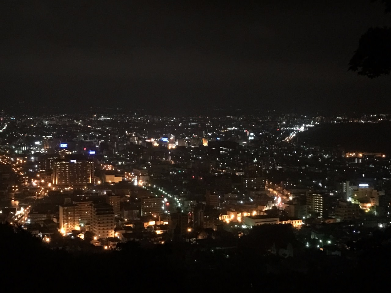 The one million dollar view at Mt Hakodate