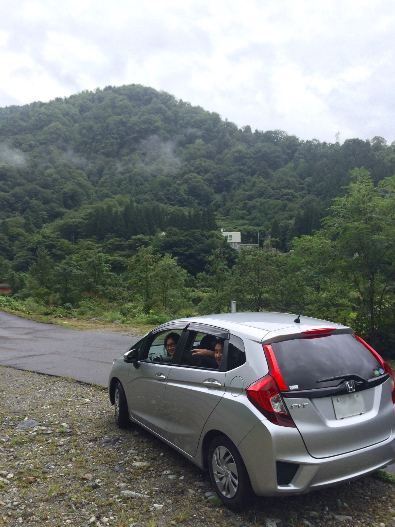 Great experience driving along Tateyama mountain area.. Very nice view!