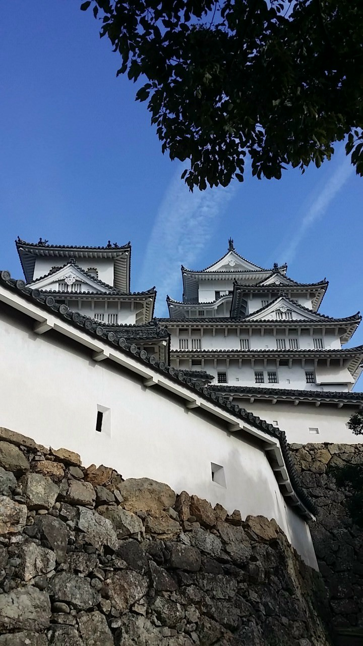 Himeji castle after reformation