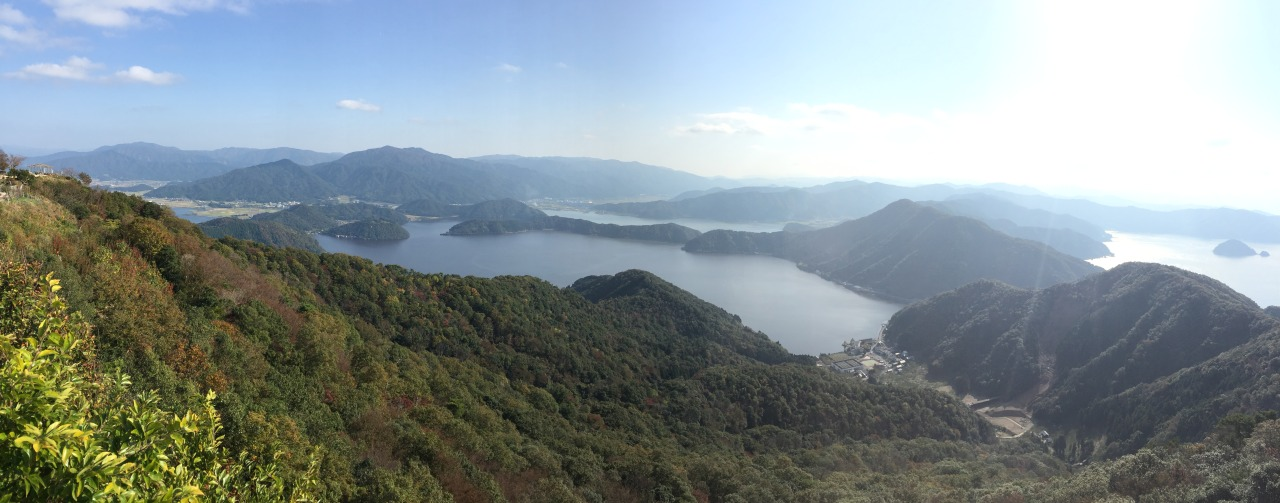 Great view of Mikata-goko from Mt Baijo observatory. Will be back for a longer stay in Mikata areas.
