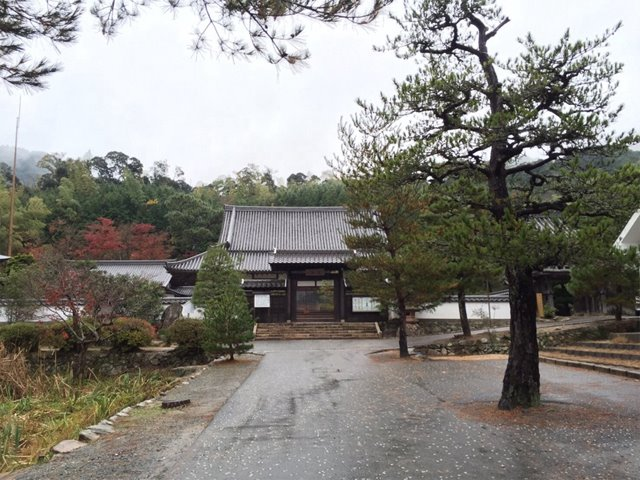 Family temple of Motonari Mouri who is famous admiral of the age of civil wars.