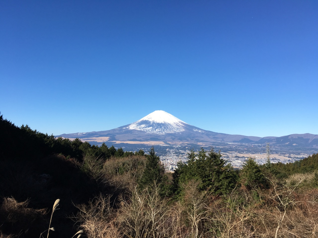 Beautiful place to catch Fuji-san! Between Hakone and Gotemba