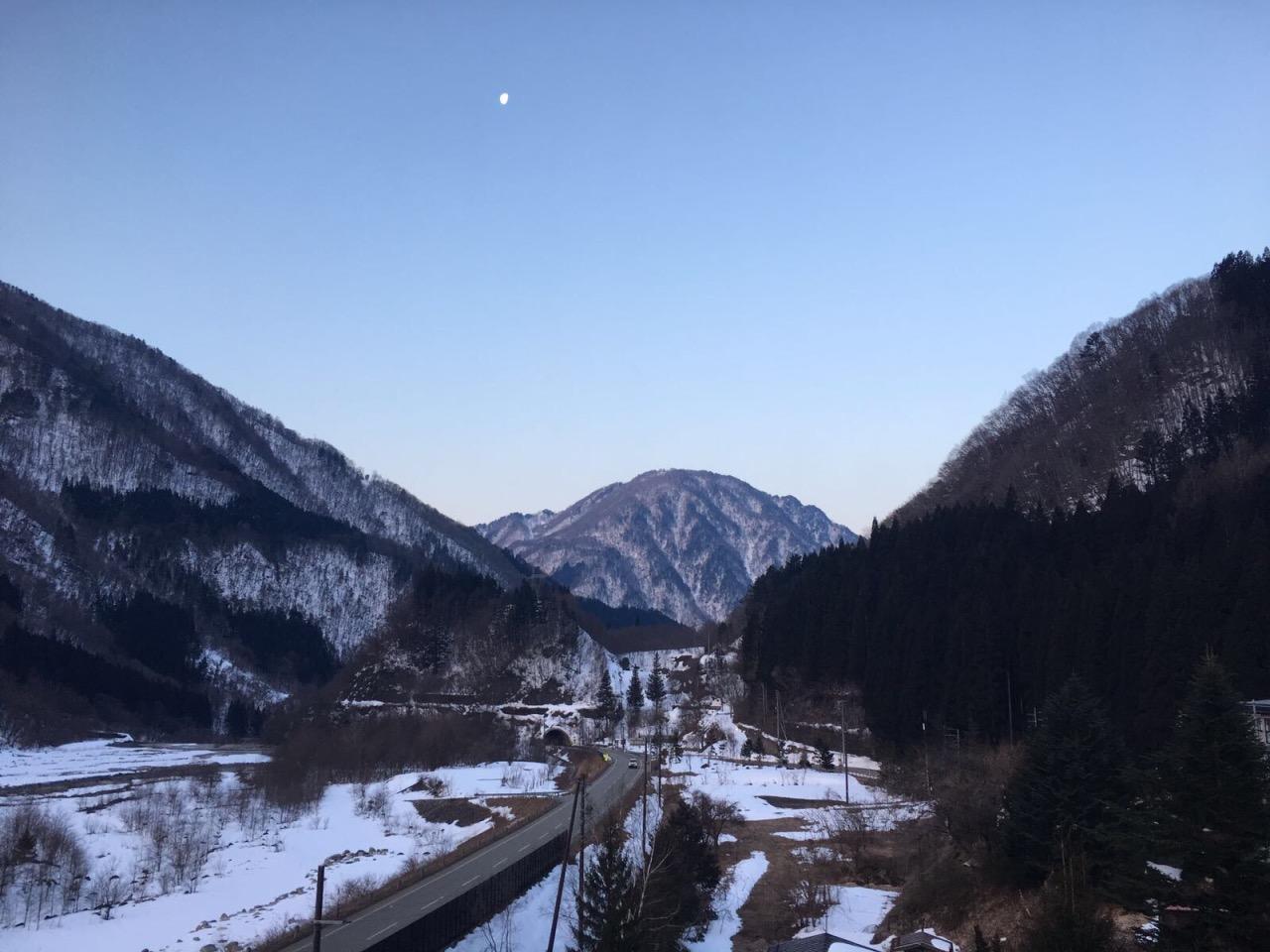 奧飛驒旅館周邊景色