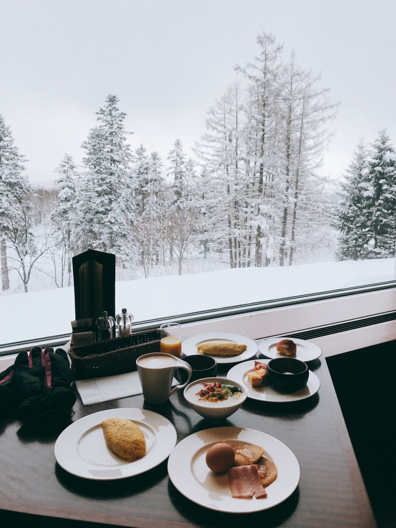 Breakfast at Hilton Niseko Village