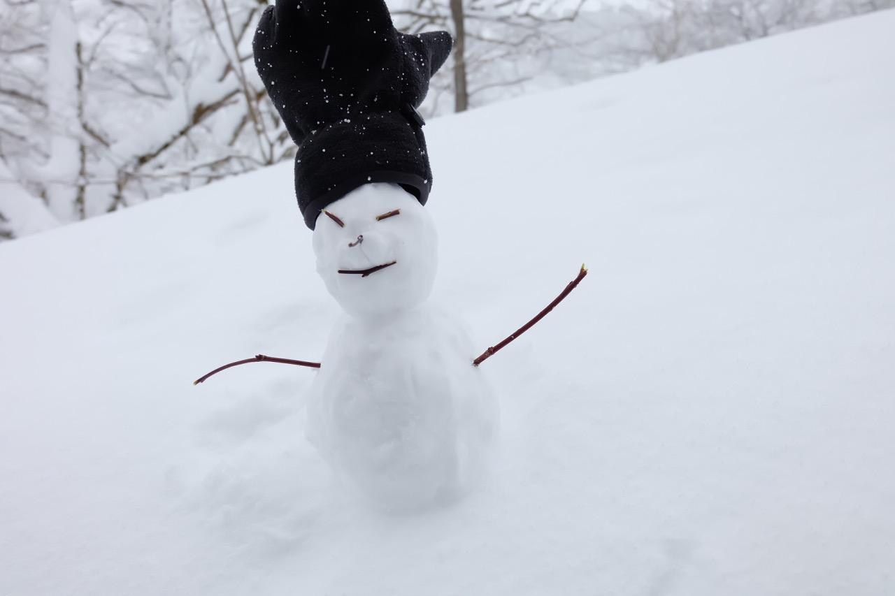 Shirakawa-snowman
