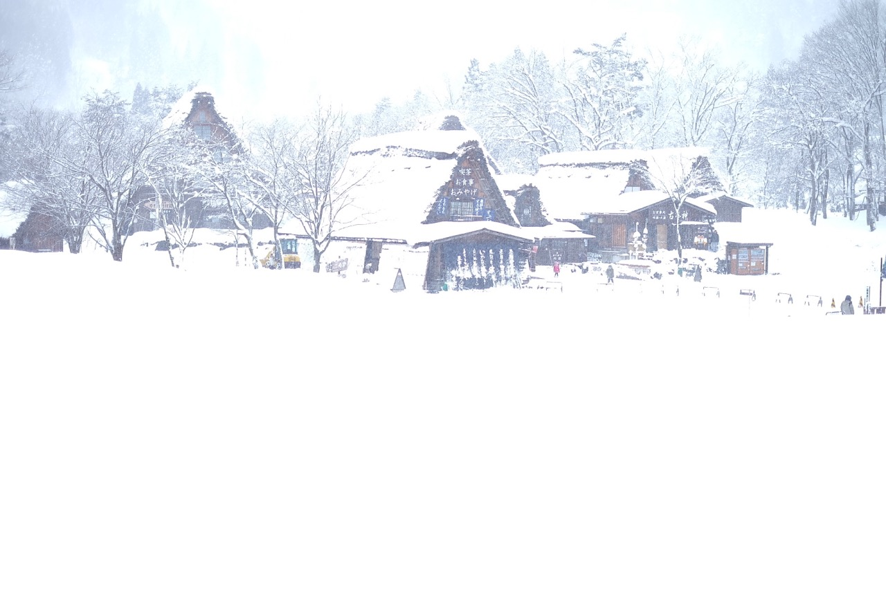 Village life. A must see stop during winter. So much snow! So beautiful!