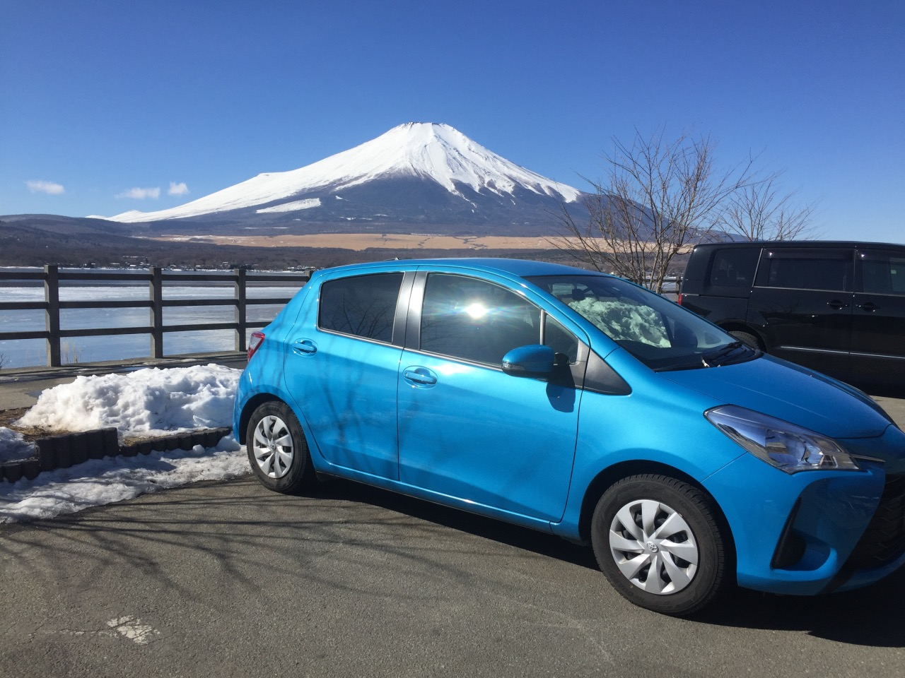 We drove around the Fuji Five Lakes area and Hakone for three days. Always love this area!