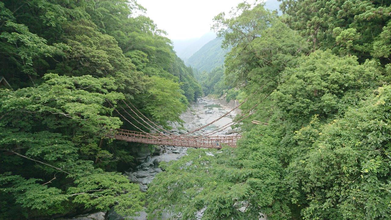 Iya-Kazura Bridge