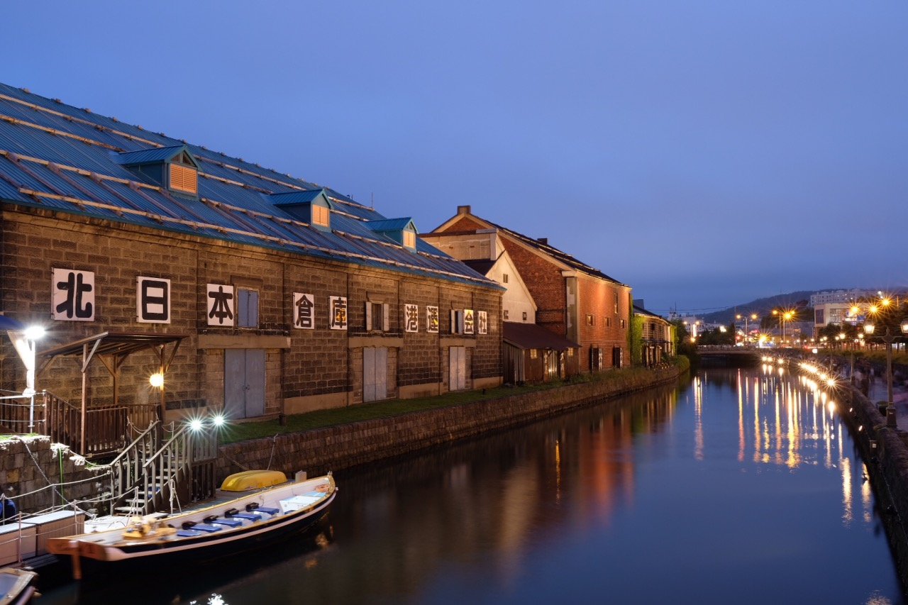 Otaru Canal in the Evening