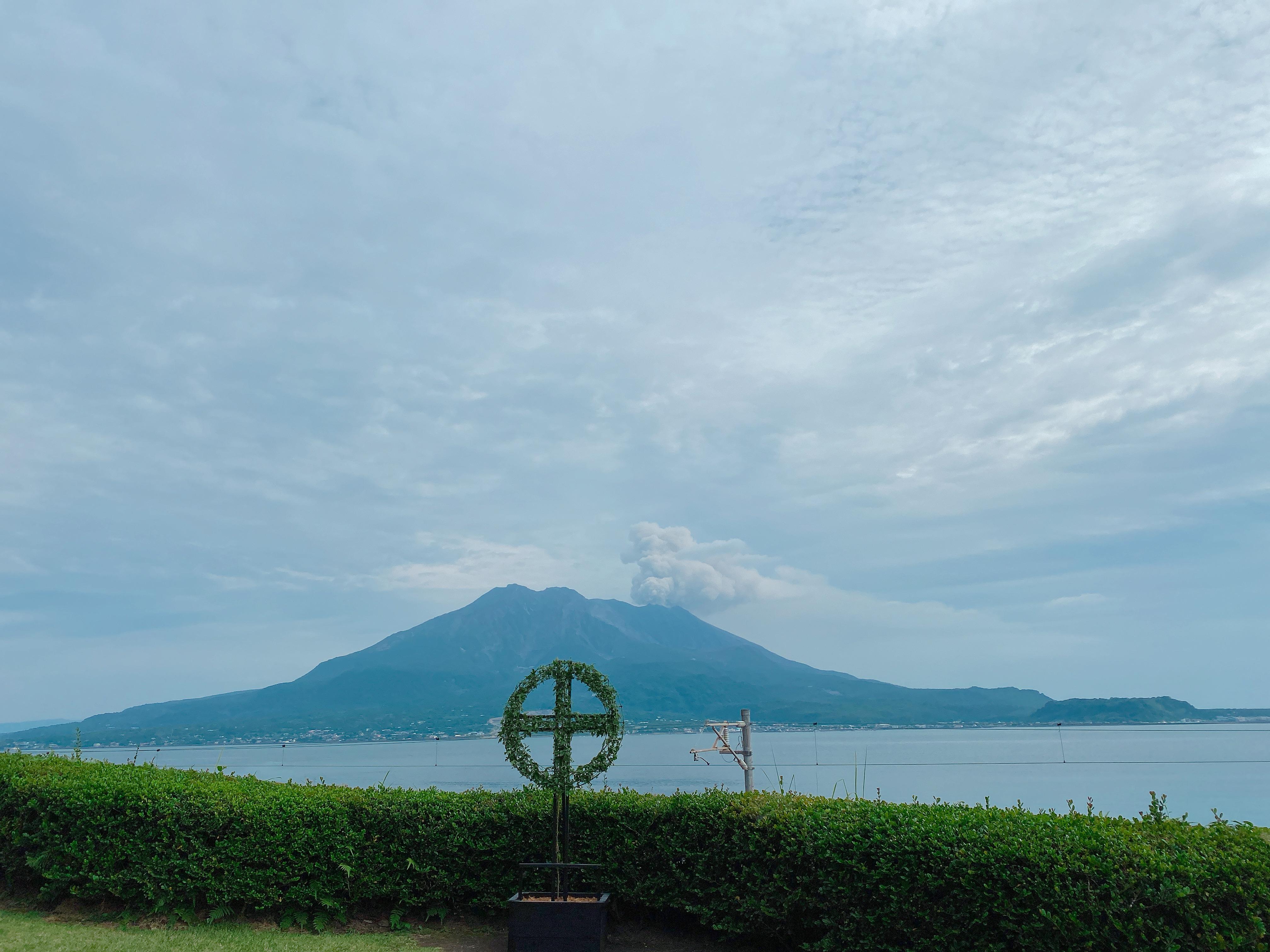 Great view of Sakura-jima